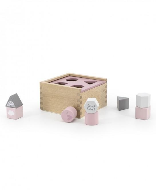 Shape Sorting Box Pink