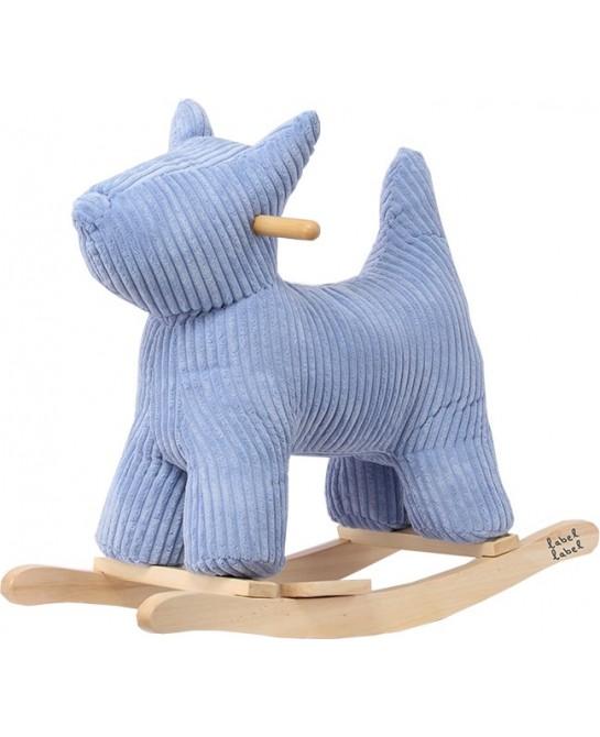 Rocking Dog Blauw
