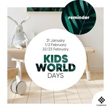 @trademartbrussels Step into the World of Trademart during the Kids World Days. Discover all the latest baby and children's trends for 2021 this Sunday and Monday! . . . #Trademartbrussels #trademart  #kidsworlddays #trademart #wholesale #event